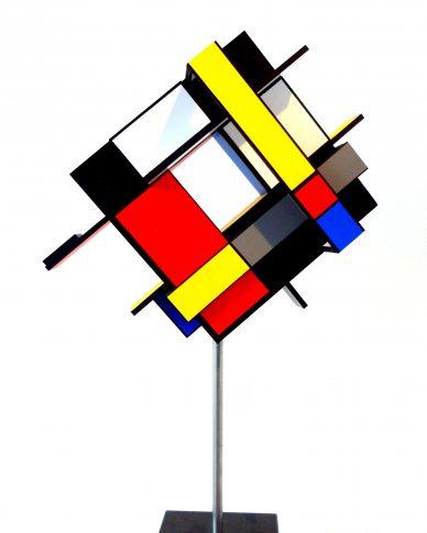 Knipoog naar Mondriaan